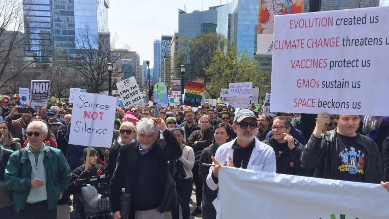 Global March for Science raises concern over Trump policies