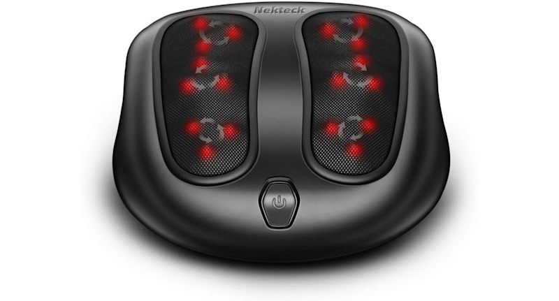 Nekteck Foot Massager with Soothing Heat (Credit: Amazon)