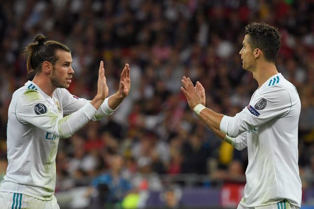 Cristiano Ronaldo and Gareth Bale both unnecessarily addressed their personal futures after they won a fourth Champions League title in five years with Real Madrid. (Getty)