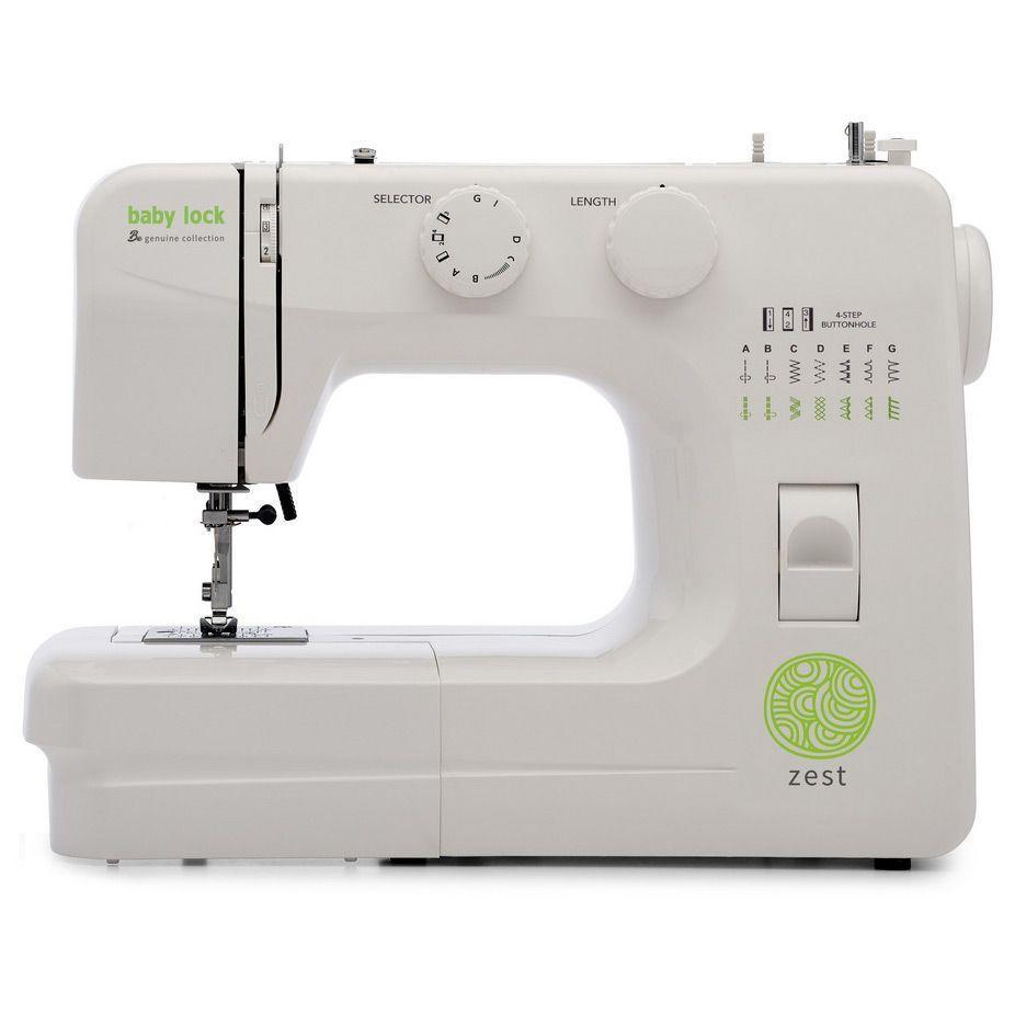 "<p><strong>Baby Lock </strong></p><p>sewingmachinesplus.com</p><p><strong>$99.99</strong></p><p><a href=""https://go.redirectingat.com?id=74968X1596630&url=https%3A%2F%2Fwww.sewingmachinesplus.com%2Fbl-zest.php&sref=https%3A%2F%2Fwww.goodhousekeeping.com%2Fhome-products%2Fg27760473%2Fbest-sewing-machines-for-beginners%2F"" rel=""nofollow noopener"" target=""_blank"" data-ylk=""slk:Shop Now"" class=""link rapid-noclick-resp"">Shop Now</a></p><p>When small children are learning how to sew, sewing safety is of the highest priority. This basic sewing machine from Baby Lock <strong>offers slow speed options and simple stitches </strong>for easy learning<strong>. </strong>Baby Lock is a popular brand for higher end sewing machines, so this is a great deal for a top brand machine. With 15 stitch options and simple reverse, this five-pound sewing machine is an easy portable option. Plus, it's under $100!</p>"