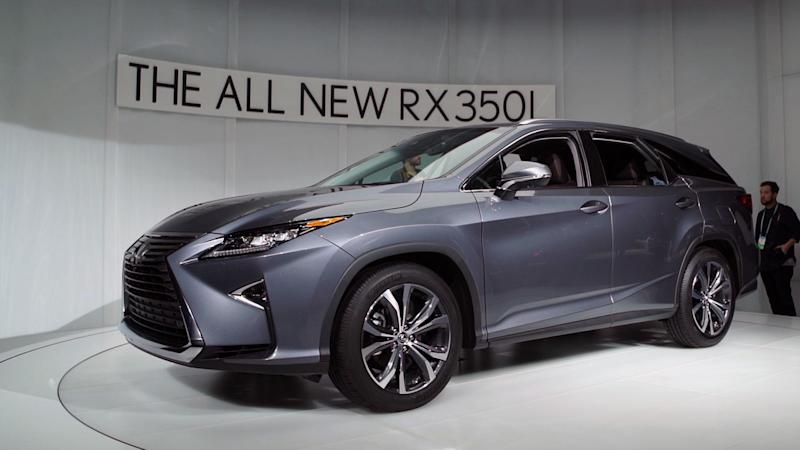 2018 lexus rx l suv delivers long needed three row capability. Black Bedroom Furniture Sets. Home Design Ideas