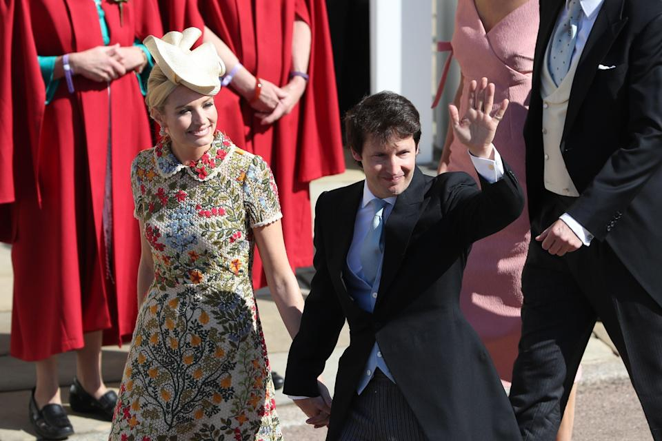 <p>Another of Prince Harry's friends, the 'You're Beautiful' singer performed at the Invictus Games in Toronto last September. His wife, Sofia wears Red Valentino. <em>[Photo: PA]</em> </p>