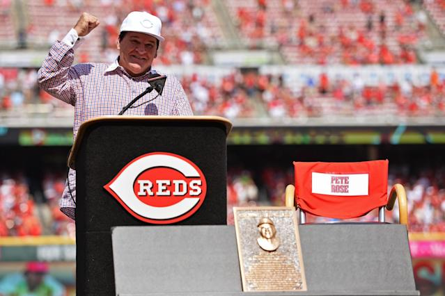 Pete Rose feels he has been unjustly kept from consideration from the Baseball Hall of Fame. (Getty Images)