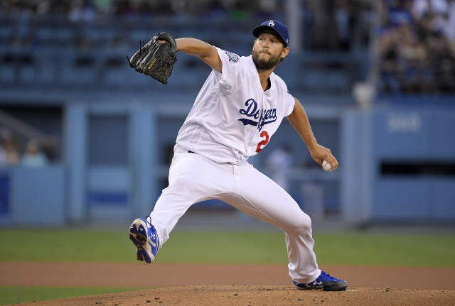 Clayton Kershaw looked like the Clayton Kershaw of old on Monday night, but failed to get the win for the Los Angeles Dodgers. (AP)