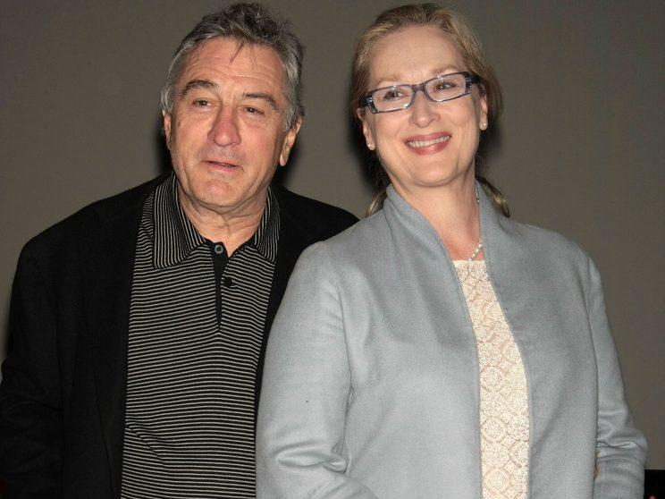 De Niro... shows solidarity with old chum Streep - Credit: Getty