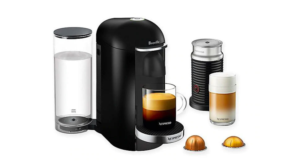 Get nearly $70 off this Nepresso bundle. (Photo: Bed Bath & Beyond)