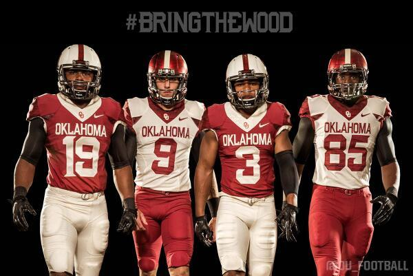 Oklahoma Sooners Bring The Wood With New Alternate