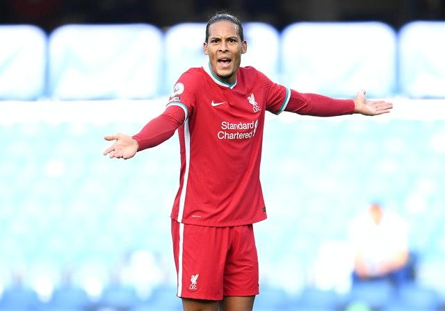 Virgil van Dijk was impressed with his defensive partner