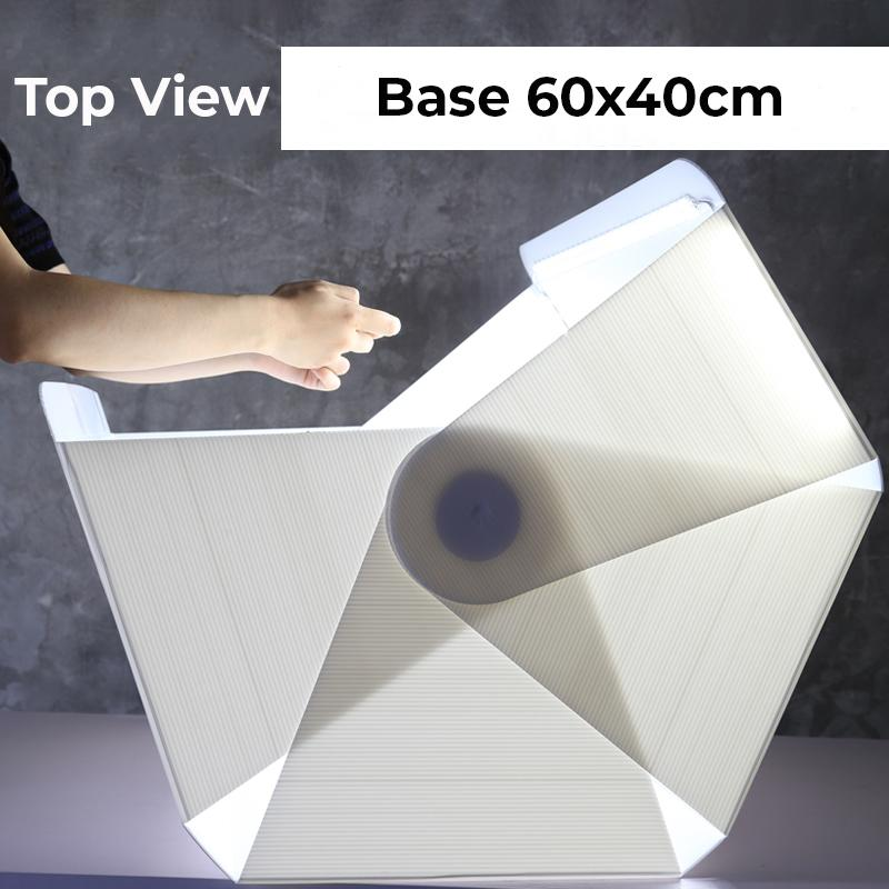 eDSLRs Portable Mini Studio 60cm Light Box Product Photography Light Tent