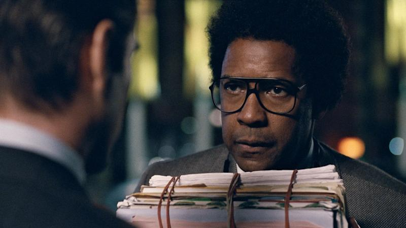 "Denzel Washington has two wins and five additional nominations to his name, making him one of the Oscars' most reliable fixtures. Playing a crusading lawyer with compulsive tics, Washington's performance in the uneven ""Roman J. Israel, Esq."" is more mannered than most of his previous work. It's unlike anything the actor has done, which isn't entirely a compliment. But given Washington's track record, this actorly bout could provide his eighth nomination."