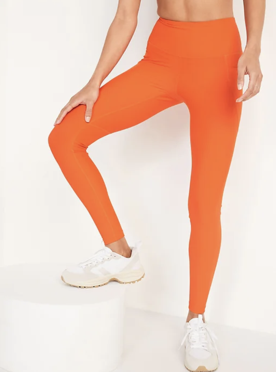 High-Waisted Elevate Powersoft Side-Pocket Leggings for Women - Old Navy