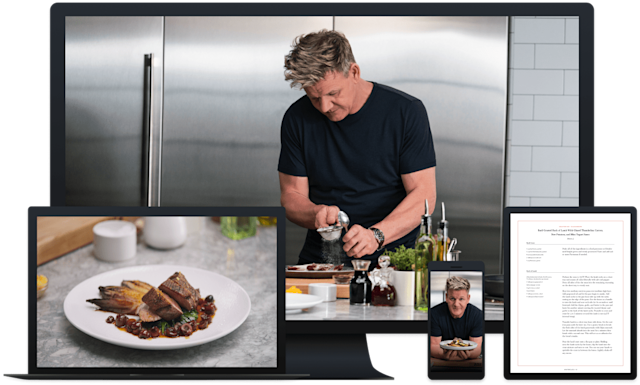 Take cooking lessons from Gordon Ramsay. (Photo: MasterClass)