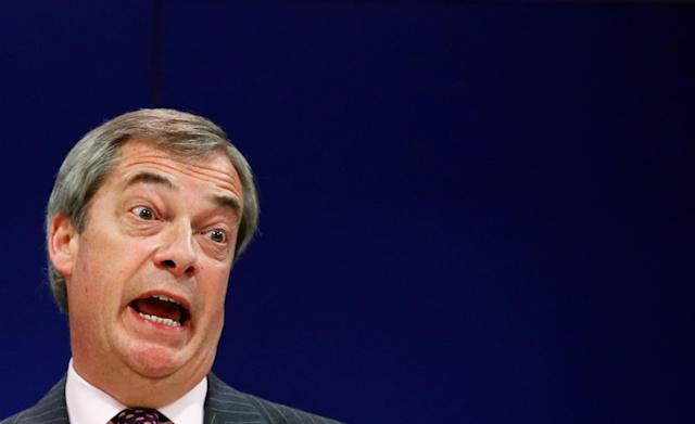 The prospect of Britain being a competitor 'terrifies' Brussels, Nigel Farage has said (Picture: REUTERS/Francois Lenoir)