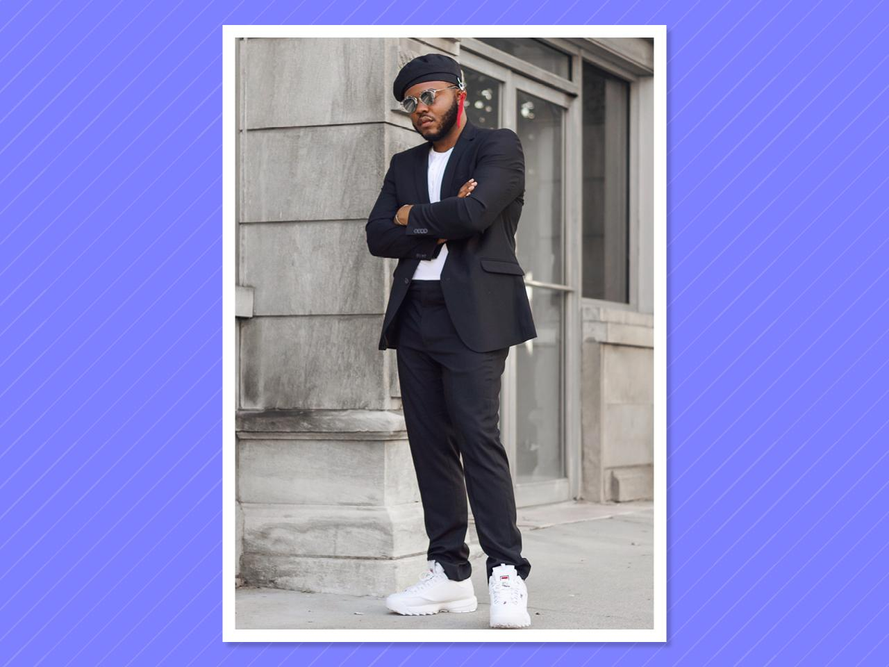 "<p></p><p><a rel=""nofollow"" href=""https://www.instagram.com/francisleebaker4/?hl=en"">Baker</a> has a refined sense of style and overall swag that makes you feel as though you are scrolling through a superchic <em>GQ</em>-curated big-and-tall feed. (Photo: Courtesy of Francis Baker) </p><p></p>"