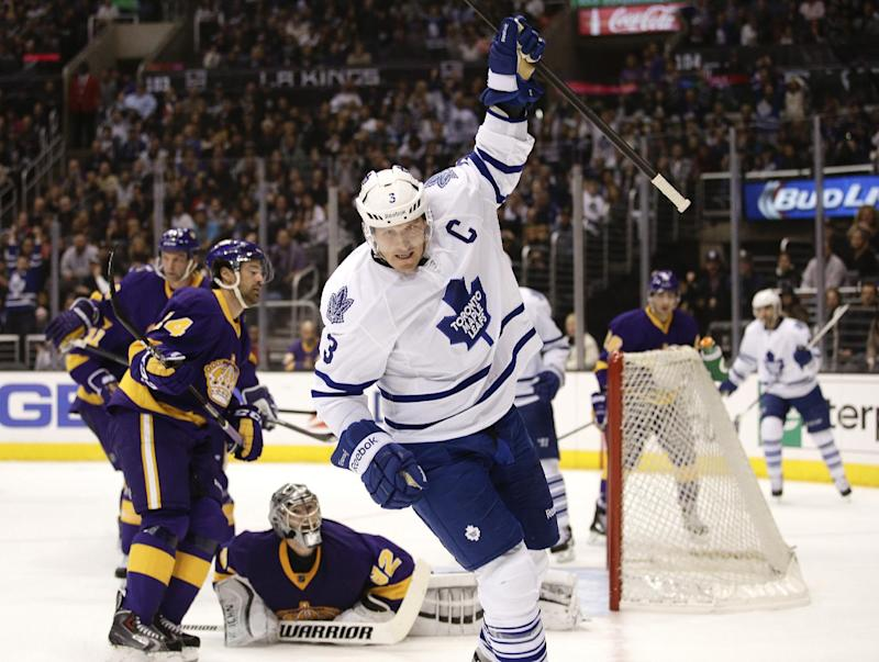 Maple Leafs beat Kings 3-2, snap LA's 8-game roll