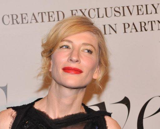 Australian actress Cate Blanchett, pictured in February