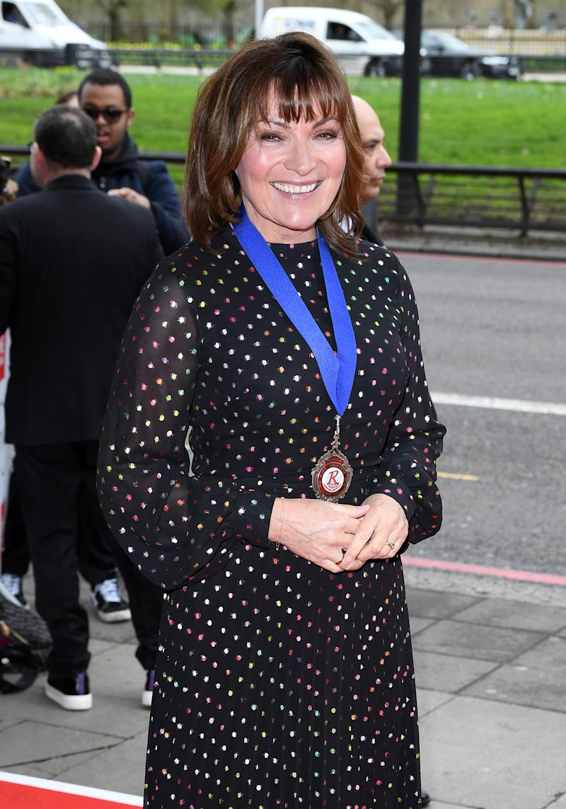 Lorraine Kelly attends the TRIC Awards 2020 at The Grosvenor House Hotel on March 10, 2020 in London, England. (Photo by Karwai Tang/WireImage)
