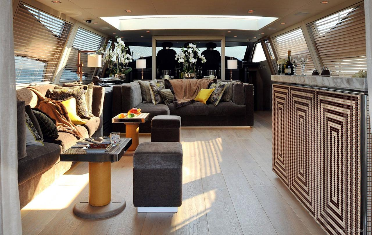 <p>No overabundance of dark wood and shiny surfaces here: These luxury yachts are beautiful inside <em>and</em> out.</p>