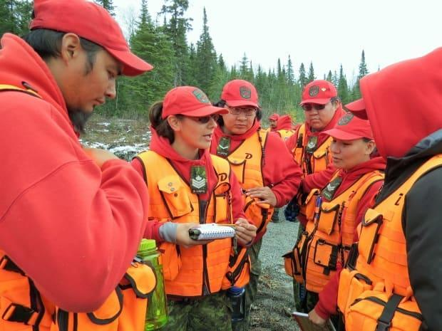 Canadian Rangers in the field in 2020. Rangers are helping communities in the N.W.T. respond to a surge of COVID-19 cases. (Submitted by Sgt. Peter Moon - image credit)