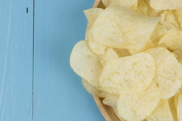 Yes, even chips can give you salmonella.