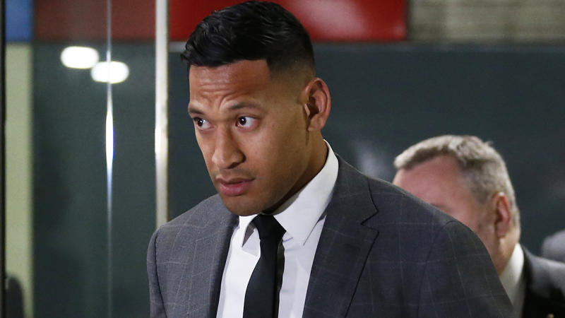 Israel Folau and Rugby Australia settle legal dispute