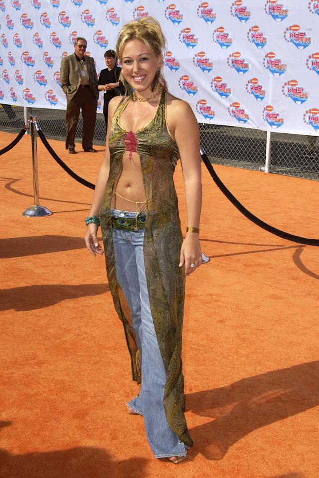 Haylie Duff during Nickelodeon's 15th Annual Kids Choice Awards - Arrivals at Barker Hanger in Santa Monica, California, United States. (Photo by SGranitz/WireImage)