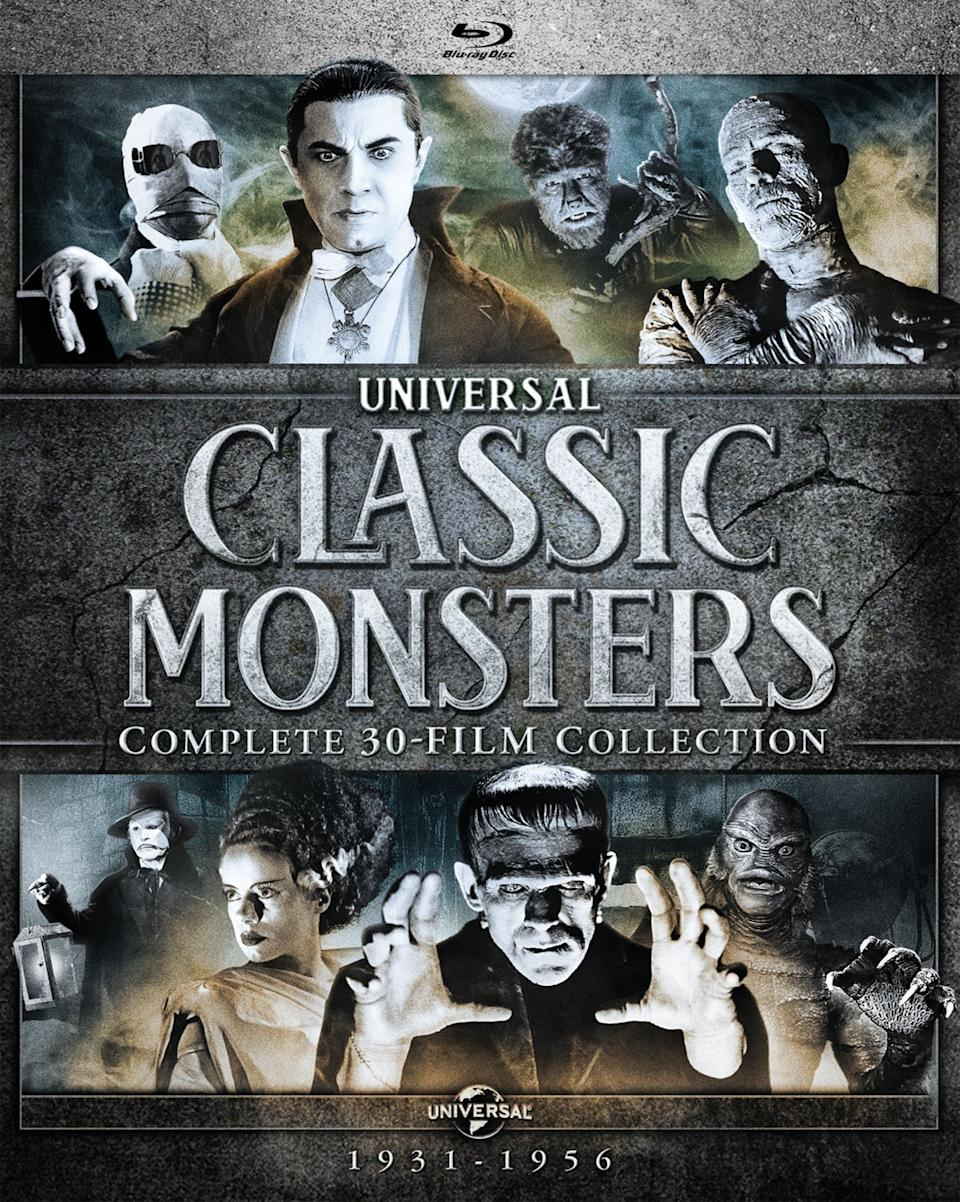 This horror movie collection has many movie nights covered. (Photo: Amazon)