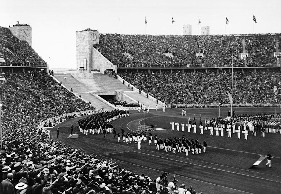 Hitler used the 1938 Olympics as a vehicle to champion Nazism (AFP Photo/-)