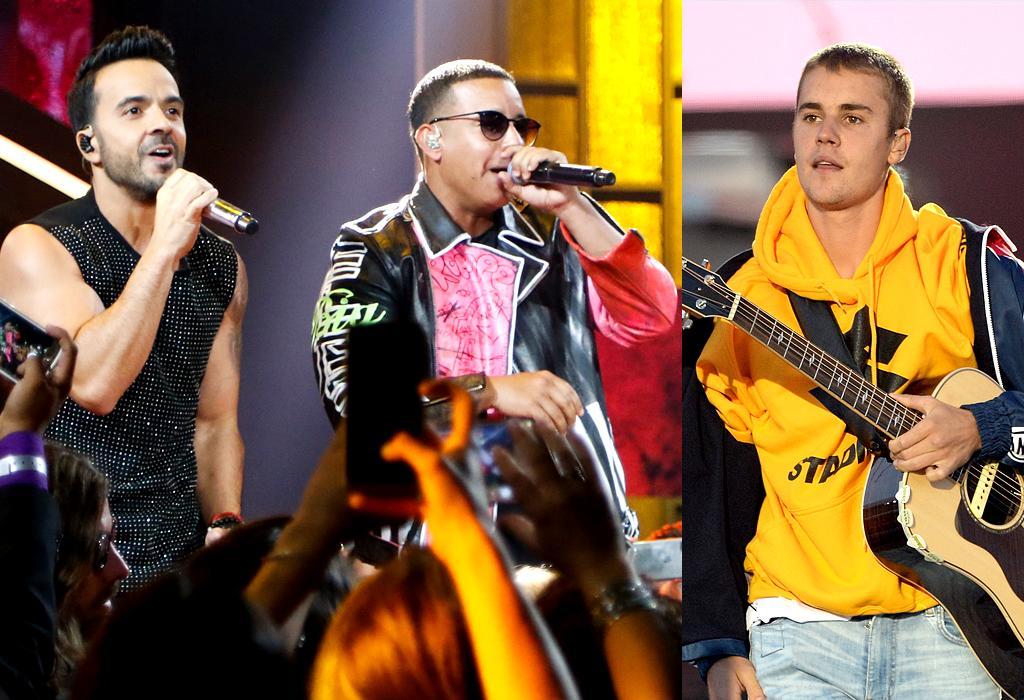 """<p>""""Despacito"""" by Luis Fonsi & Daddy Yankee featuring Justin Bieber is a genre-bridging song that has artists of different races and countries of origin working together. That will speak to a lot of Grammy voters, especially in the Donald Trump era. (Photo: Getty Images) </p>"""