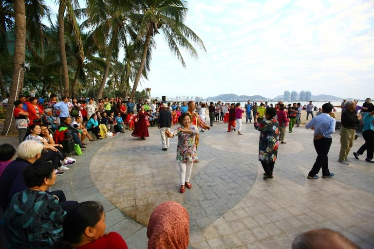 Between 600,000 and 700,000 elderly descend on Sanya every winter, almost doubling its population