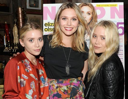 """A new Olsen is taking the world by storm. Elizabeth Olsen, center, the 22-year-old sister of Mary-Kate and Ashley, has won critical acclaim for her first starring role in a movie, """"Martha Marcy May Marlene,"""" in theaters Oct. 14, 2011"""