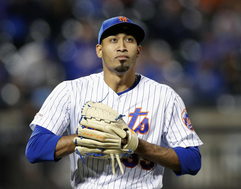 Pitcher Edwin Diaz #39 of the New York Mets