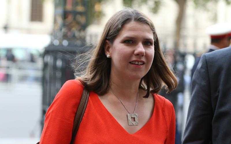 Leader of the Liberal Democrats Jo Swinson