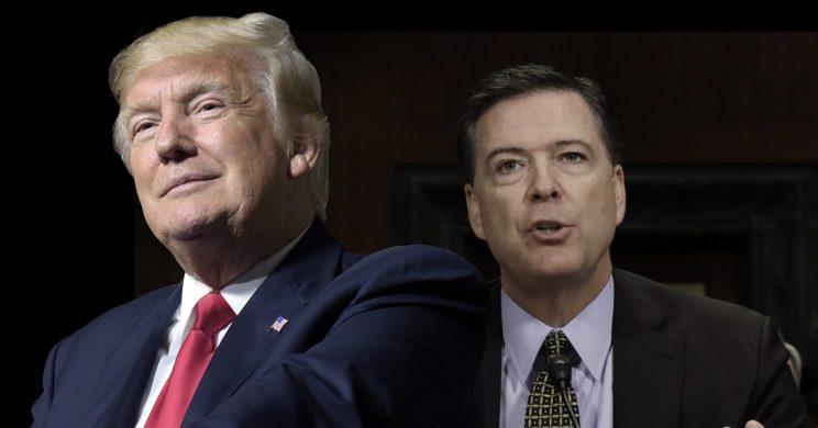 Trump and Comey. (Photo illustration: Yahoo News; photos: Susan Walsh/AP, Kevin Lamarque/Reuters)