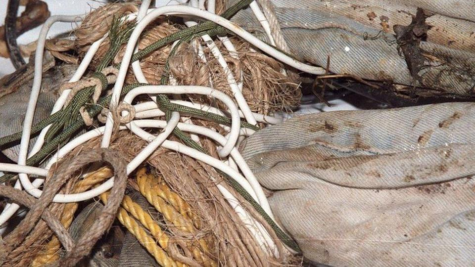 6 different types of rope had been used