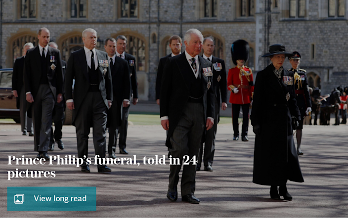 Farewell from Queen and country: Prince Philip's funeral, told in 24 pictures