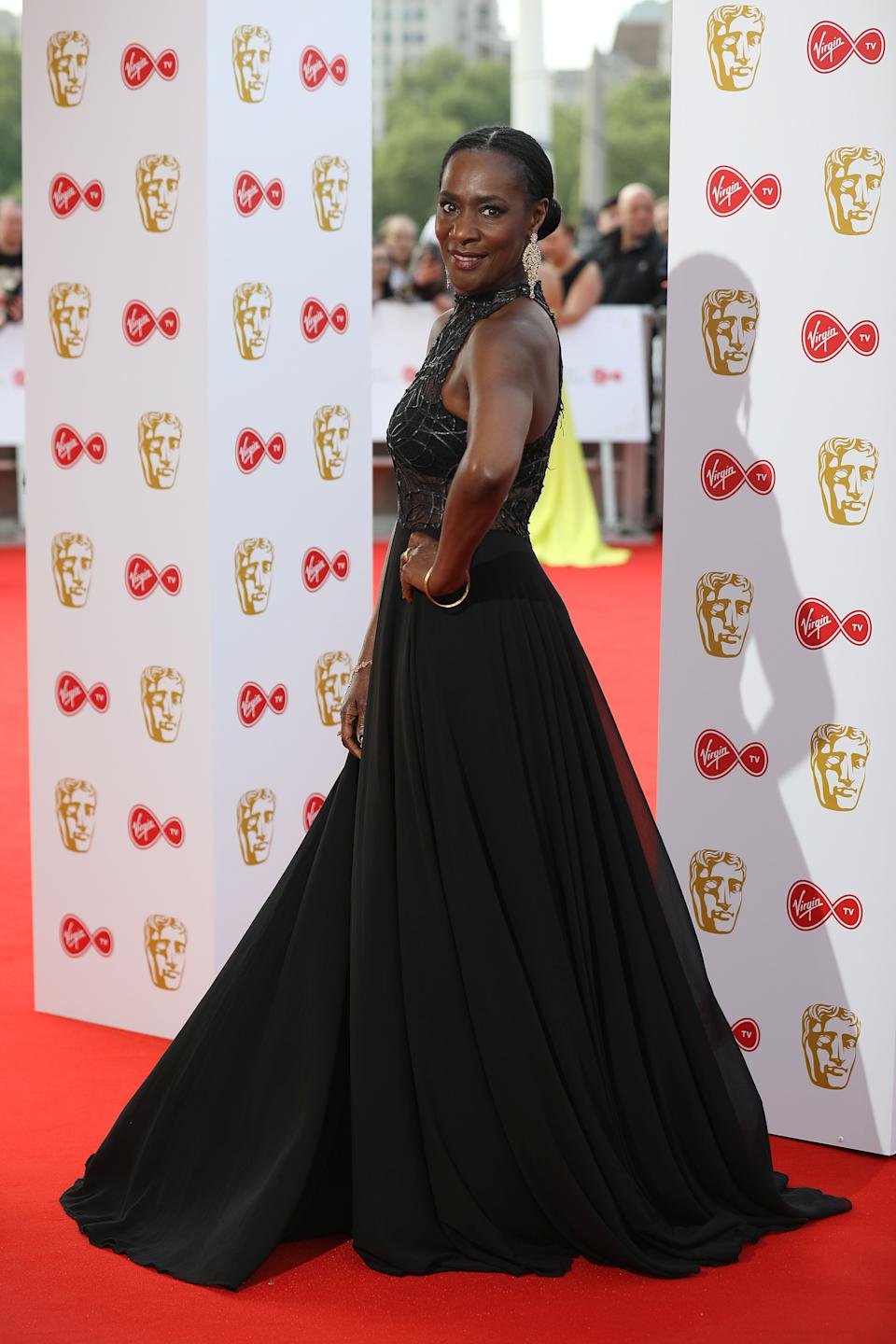 LONDON, ENGLAND - MAY 13: Jacqueline Abrahams attends the Virgin TV British Academy Television Awards at The Royal Festival Hall on May 13, 2018 in London, England. (Photo by Tim Whitby/Getty Images)