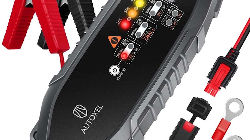 Autoexel car battery charger