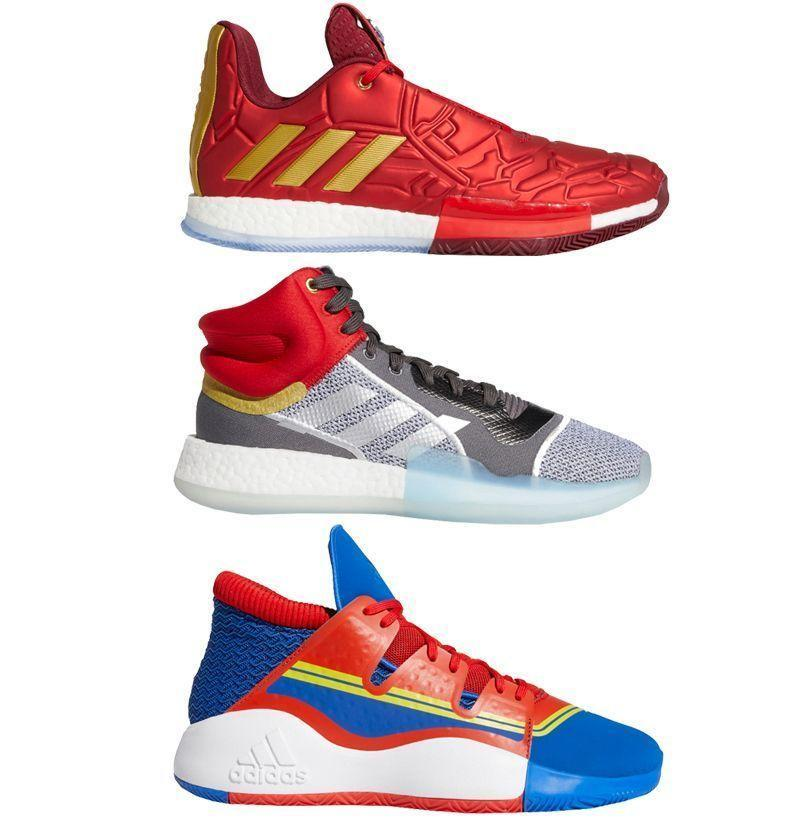 "<p><strong>Adidas</strong></p><p>footlocker.com</p><p><strong>$110.00</strong></p><p><a href=""https://go.redirectingat.com?id=74968X1596630&url=https%3A%2F%2Fwww.footlocker.com%2Fcategory%2Fcollection%2Fadidas%2Fmarvel.html&sref=https%3A%2F%2Fwww.redbookmag.com%2Flife%2Fg34750835%2Fbest-marvel-gifts-ideas%2F"" rel=""nofollow noopener"" target=""_blank"" data-ylk=""slk:Buy"" class=""link rapid-noclick-resp"">Buy</a></p><p>So you can canvass the streets for crime—or dominate the court—in Adidas's collection of Marvel basketball shoes, showcasing footwear for Black Panther, Iron Man, Nick Fury, and more.</p>"