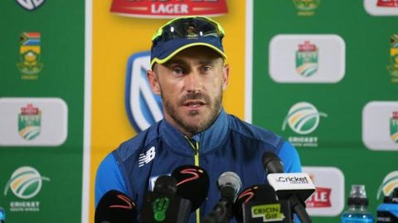 Faf du Plessis speaks on South Africa