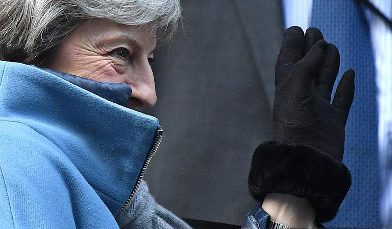 """British Prime Minister Theresa May has said if her deal is voted down again """"we will not leave the EU for many months, if ever"""" (AFP Photo/Ben STANSALL)"""