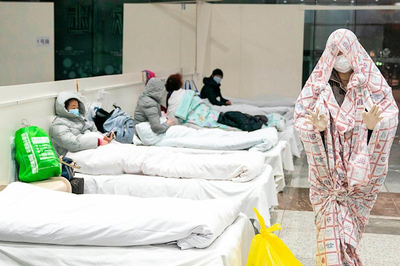 Coronavirus patients wuhan