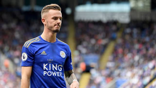 James Maddison Leicester City Wolves 2019-20