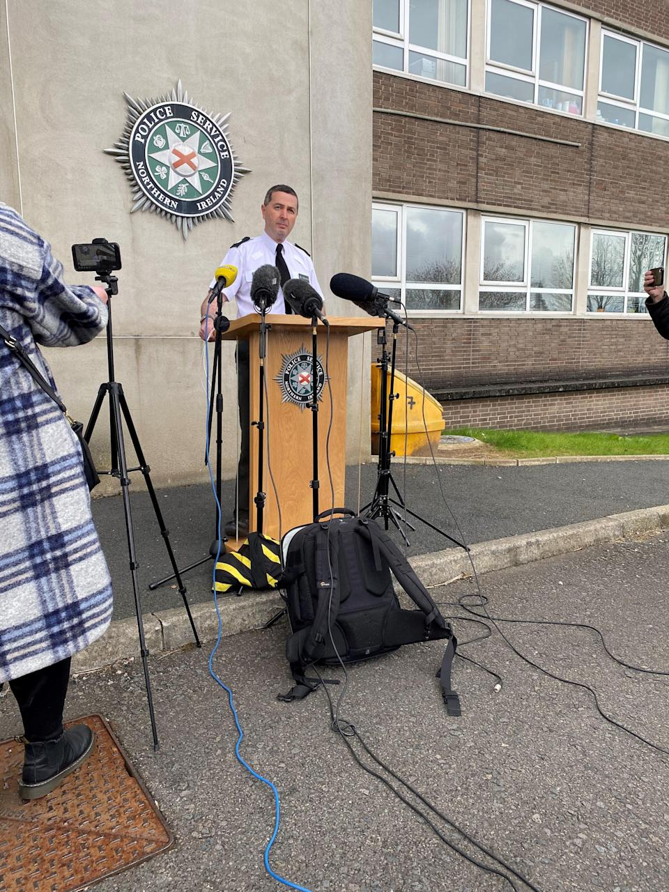 PSNI Assistant Chief Constable Jonathan RobertsPA Wire