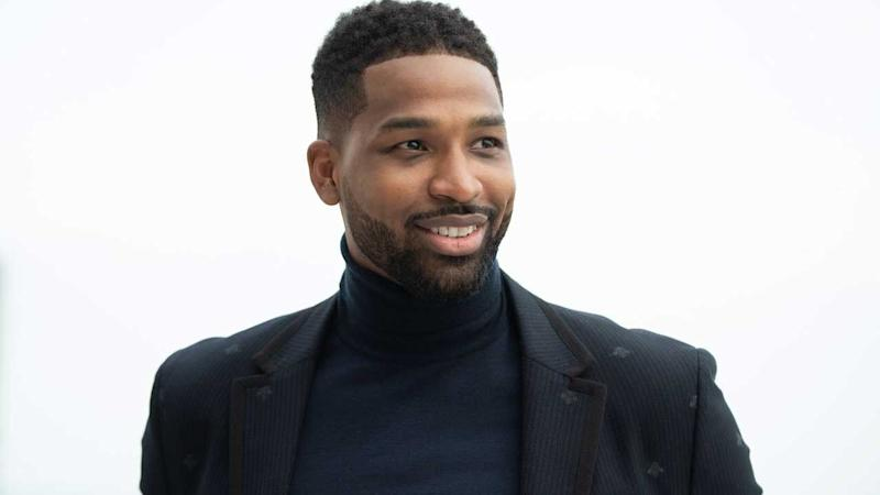 Tristan Thompson Posts Cute Gym Pic with 'Twin' Daughter True