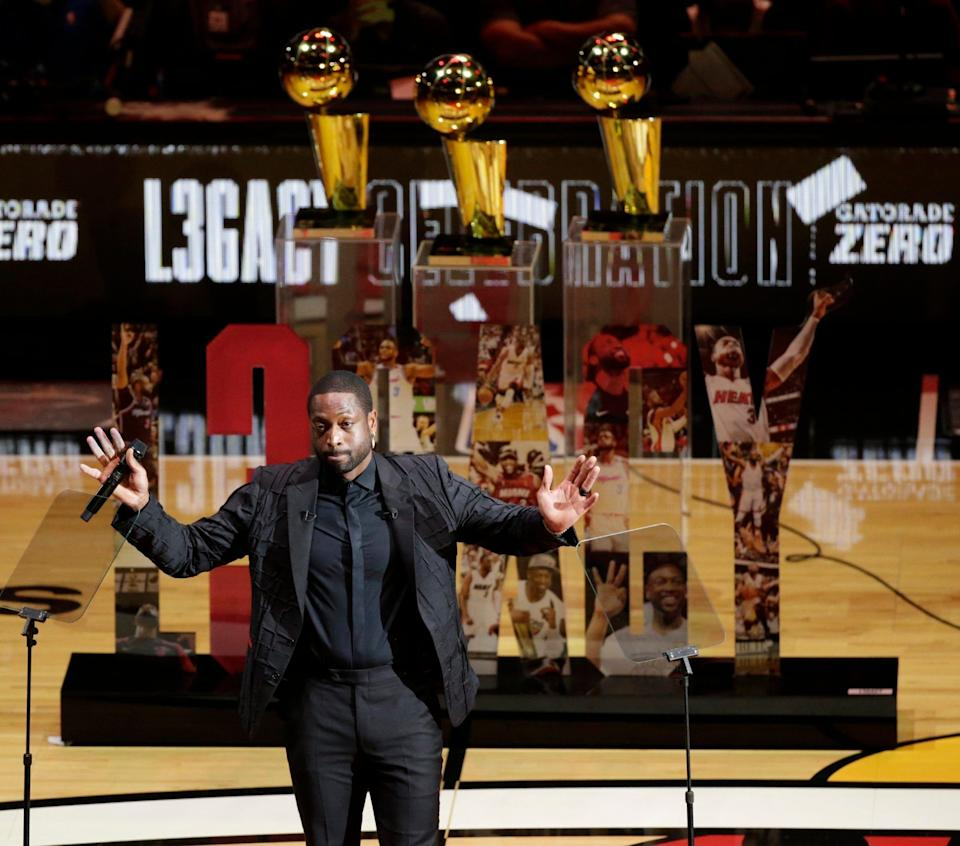 Dywane Wade, who had his jersey retired by the Heat last season, is buying a stake in the Utah Jazz.