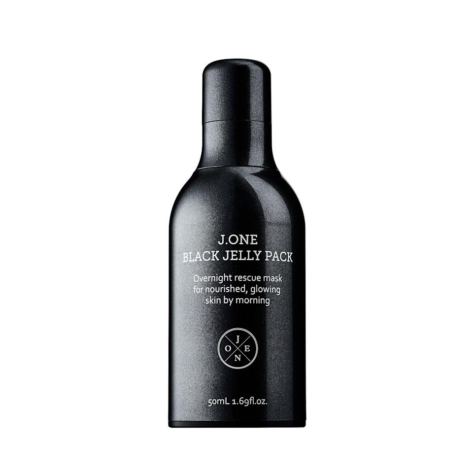 """<p>Just as its name suggests, this hydrating K-Beauty mask — made with nourishing truffle, blackberry, and black pearl — comes in a deep midnight hue that may (or may not) stain your silk pillowcase if you're not careful. Avoid the added mess by slathering on the overnight treatment at least 30 minutes before hitting the sack.</p><p>$47 (<a href=""""https://shop-links.co/1626911644575994396?mbid=synd_yahoolife"""" rel=""""nofollow noopener"""" target=""""_blank"""" data-ylk=""""slk:Shop Now"""" class=""""link rapid-noclick-resp"""">Shop Now</a>)</p>"""