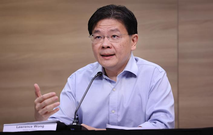 Finance Minister and MTF co-chair Lawrence Wong. (PHOTO: MCI)