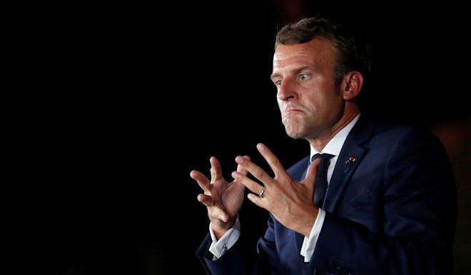 """""""Human rights are not a Western idea that can be treated as interference by those who refer to them,"""" French President Emmanuel Macron told the UN General Assembly this week. Photo: Reuters"""