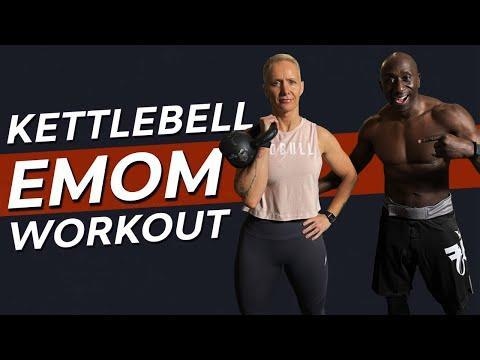 """<p>Another one for the <a href=""""https://www.womenshealthmag.com/uk/fitness/workouts/g34342270/kettlebell-workout/"""" rel=""""nofollow noopener"""" target=""""_blank"""" data-ylk=""""slk:kettlebell workout"""" class=""""link rapid-noclick-resp"""">kettlebell workout</a> lovers out there, get around a 30-minute workout that uses a single <a href=""""https://www.womenshealthmag.com/uk/gym-wear/g31728797/best-kettlebells/"""" rel=""""nofollow noopener"""" target=""""_blank"""" data-ylk=""""slk:kettlebell"""" class=""""link rapid-noclick-resp"""">kettlebell</a> for all-over muscle building. </p><p><a href=""""https://www.youtube.com/watch?v=zzgdP9nUnUQ&ab_channel=FunkRoberts"""" rel=""""nofollow noopener"""" target=""""_blank"""" data-ylk=""""slk:See the original post on Youtube"""" class=""""link rapid-noclick-resp"""">See the original post on Youtube</a></p>"""